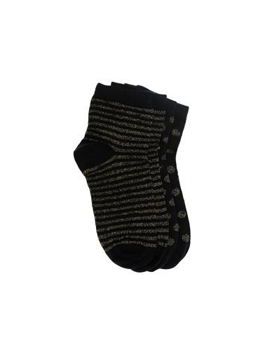 Divarese 2'li Çorap Siyah